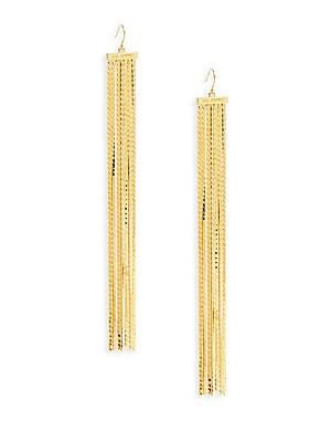 Fringed Linear Earrings