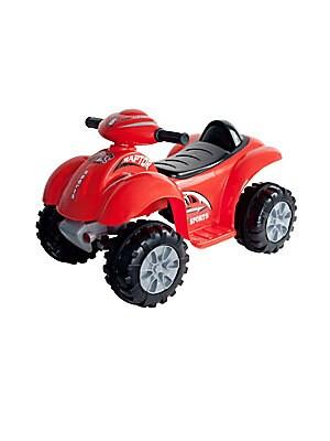 Lil' Rider Red Raptor Four-Wheeler