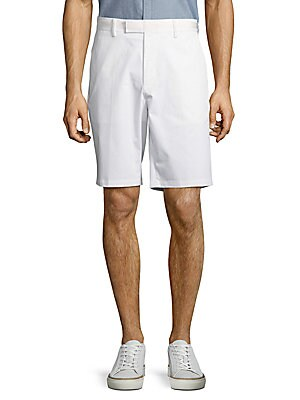 Contrast Waistband Shorts