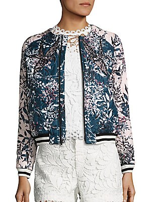 Maverick Embroidered Floral Jacket
