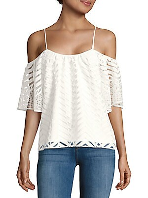 Tessy Cold-Shoulder Top