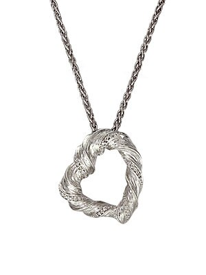 Click here for Diamond Heart Pendant in Sterling Silver prices