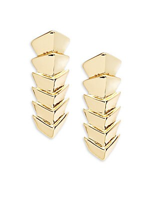Chevron Linear Earrings