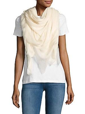 Silk-Blend Solid Scarf