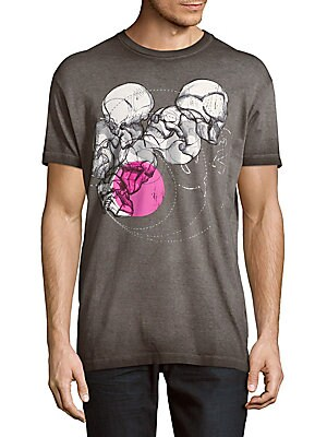 Cotton Short-Sleeve Graphic Tee