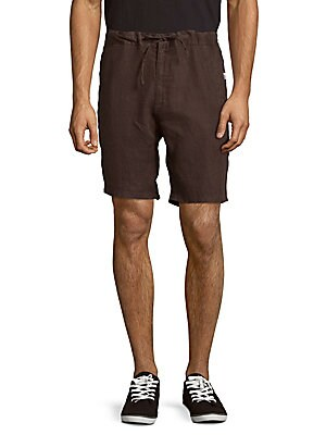Max Drawstring Linen Shorts