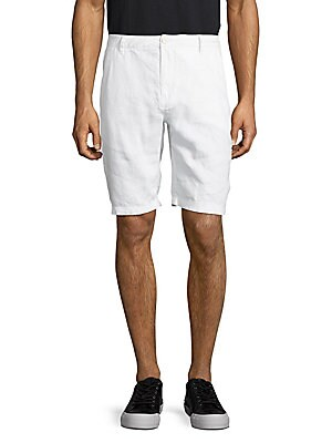 Austin Linen Four-Pocket Shorts