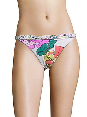 6 shore road by pooja female domingo floral printed bikini bottom