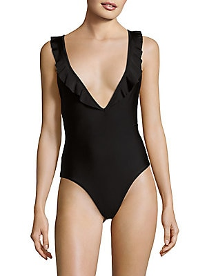 Oasis Ruffled One-Piece Swimsuit