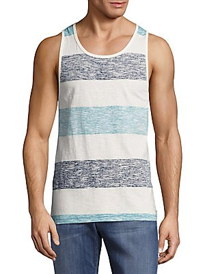 Cotton Printed Tank Tee