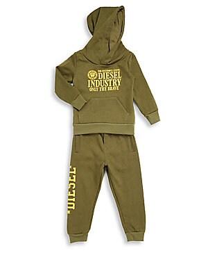 Baby's Hoodie & Pants Set