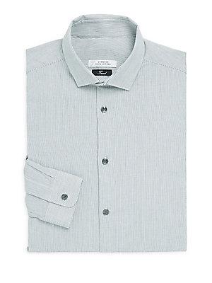 Trend-Fit Striped Dress Shirt