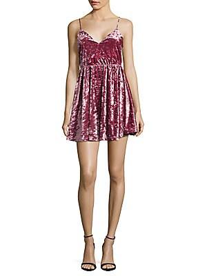 Lace Velvet Woven Dress