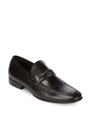 Allen Leather Bit Loafers Roberto Cavalli