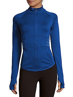 Paneled Zipper Jacket