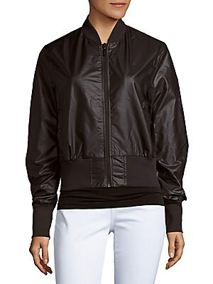 Iridescent Bomber Jacket