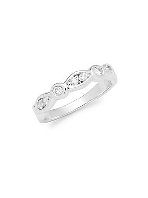 Click here for White Gold & DiamondLink Band Ring prices