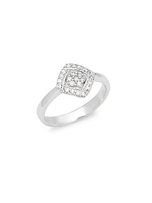 Click here for White Gold & Diamond Studded Solitaire Ring prices