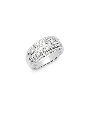 Click here for White Gold & Diamond Wide Band Ring prices