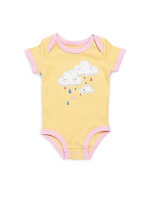 Baby's Cotton Cloud on Rainbow Bodysuit