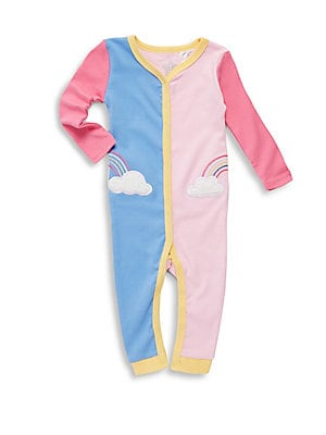 Baby's Rainbow Cloud Coverall