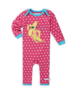 Baby's Printed Cotton Coverall