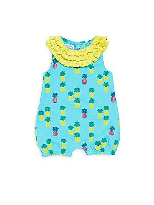 Baby's Cotton Isabella Pineapple Romper