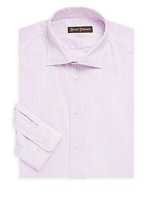 Classic-Fit Striped Dress Shirt