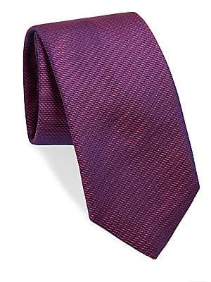 Rowley Textured Raw Silk Tie
