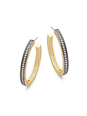 Radiance Hoop Earrings/1.5