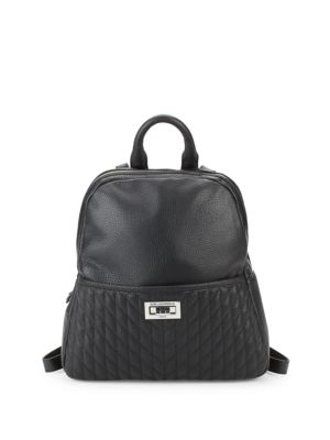 Quilted Small Backpack