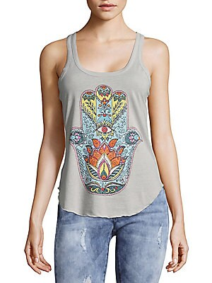 Abstract Designed Tank Top