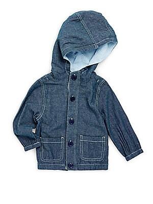 Baby's Cotton Chambray Jacket