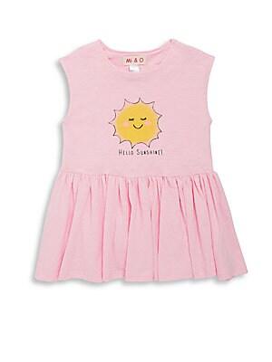 Little Girl's & Girl's Sunshine Dress