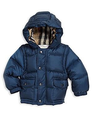 Baby's Barnie Down Puffer Jacket