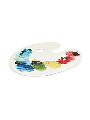 Artist Palette Cheese Tray