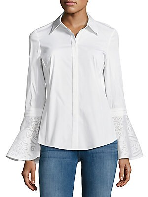 Avis Button-Down Blouse