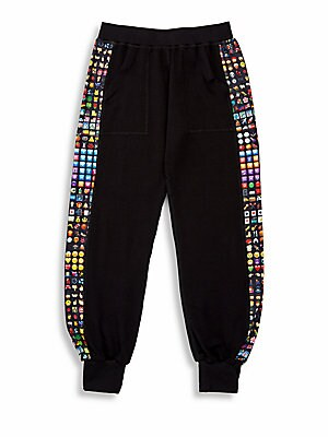 Girl's Emoji Sweatpants