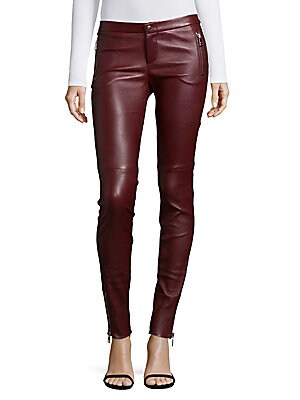 Skinny Leather Jeans