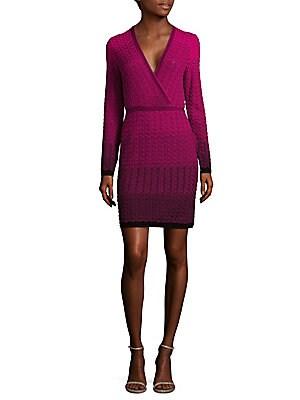 Chevron Knit Sheath Dress