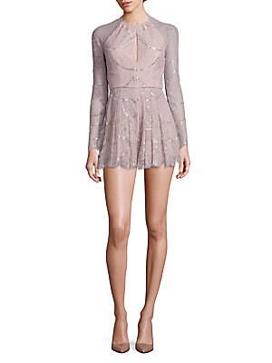 Chanelle Metallic Lace Jumpsuit