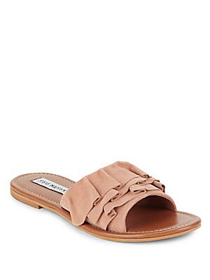 Getdown Suede Slide Sandals