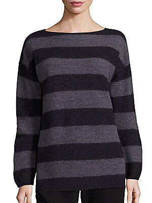 Merino Wool Striped Sweater