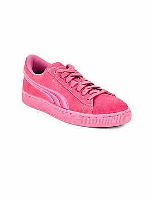 Girl's Suede Classic Sneakers
