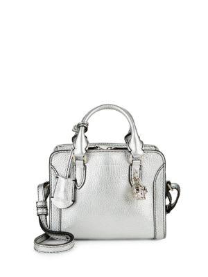 Padlock Leather Mini Crossbody Bag Alexander McQueen