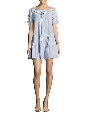 Casual Woven Mini Dress