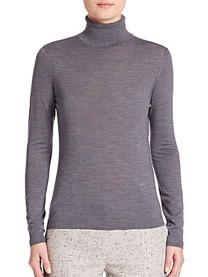 Fabuna Virgin Wool Turtleneck Sweater