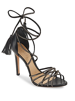 Dorinha Strappy Lace-Up Sandals
