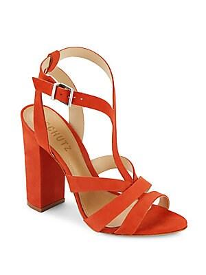 Veggy Leather Open-Toe Sandals