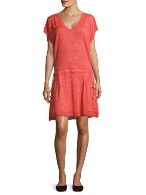 Heathered Linen Dress